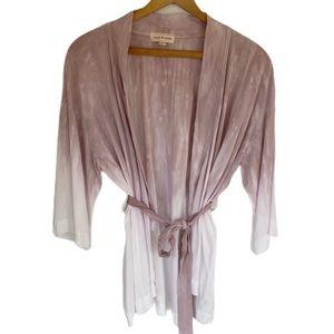 Anthropologie Cloth & Stone Kimono Ombré Cardigan